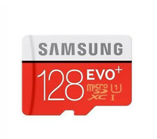 AASamsung 128GB-EVO plus Micro SD SDHC SDXC 80MB/s UHS-I Class10 Card