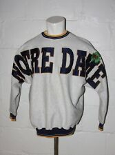 VTG Notre Dame Fighting Irish Crewneck Batwing Sweatshirt Sz XL