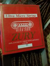 ZURY 100% SYNTHETIC FIBER  HAIR ULTRA MICRO SPRING Addon extentions