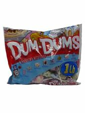 Dum Dums Limited Edition Dessert Flavors Assorted Candy Pops 453g