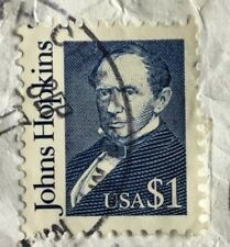 United States of America stamps - Johns Hopkins  $1 1989