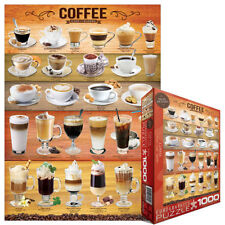 COFFEE 1000 PIECE JIGSAW PUZZLE EG60000589 - Eurographics