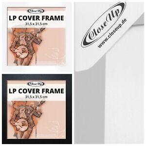 LP Album Cover Schallplatten Rahmen 31,5 x 31,5 cm Wechselrahmen Bilderrahmen