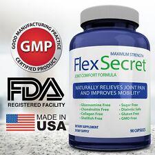 Maximum Strength Flex Secret Joint Comfort Health Supplements for Men and Women