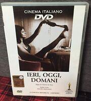 Ieri Oggi e Domani DVD Vittorio De Sica Sofia Loren M. Mastroianni Come Foto N