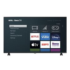 "onn. 65"" Class 4K (2160p) UHD LED Roku Smart TV HDR Flat Screen High Resolution"