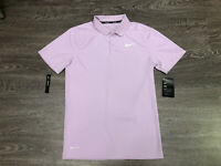 Nike Golf Mens Dri-Fit Victory Solid Slim Fit Polo Shirt Purple NEW 891855-543