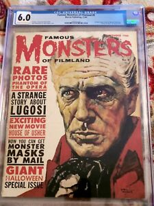 Famous Monsters of Filmland Issue #9!! ****CGC 6.0!****