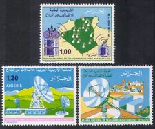Algérie 1975 Télécommunications Par Satellite/RADIO/Communications 3 V Set (n39219)