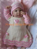 Honeydropdesigns PAPER KNITTING PATTERN #5 For Baby Born//17 Inch Dolls
