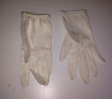 vintage leather gloves france anglades stamped inside petite/xsmall size