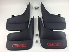2007-2013 GMC  SIERRA EXT  CAB & REG CAB MOLDED SPLASH GUARDS MUD FLAPS  GM OEM