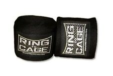 "Ring To Cage Handwraps Mexican Style Stretchable-Black 120""-New!"