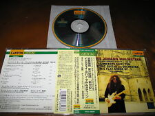 Yngwie Malmsteen / Concerto Suite for Electric Guitar... JAPAN 24bit HDCD A5