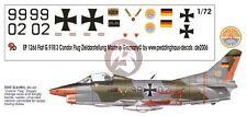 Peddinghaus 1/72 German Fiat G.91R/3 Markings Condor Flug Zieldarstellung 1266
