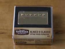 TONERIDER ALNICO II AC2 GOLD IMPROVED FIFTIES PAF BRIDGE VINTAGE PU 8.5k VINTAGE