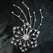Strass-fermaglio,Accessorio per capelli Accessori da sposa Diadema Bollywood