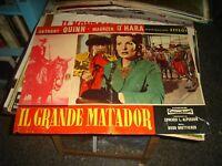 Il Grande Matador Fotobusta Original 1964 A. Quinn M. o' Hara