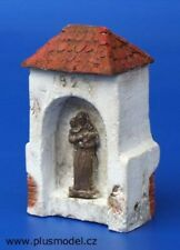 Plus Model 1:35 Village Chapel Gypsom & Resin Diorama Kit #049