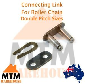 Connecting Link Con Clip Double Pitch Roller Chain Master 2040 2050 2060 2080
