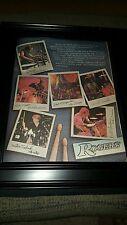 Rogers Drums Rare Original Promo Poster Ad Framed!