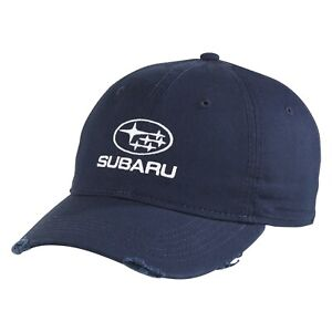 Genuine Subaru Logo Ladies' Distressed Cap Hat STI Ascent Forester Outback WRX