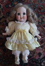 """Antique 12"""" Antique Kestner Model #221 Glass eyes Googly Eyed German Doll."""