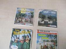 Vintage Viewmaster Reels - Honolulu, Waikiki, Kauai, Maui, Kodak Hula Show...