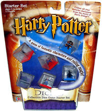 Harry Potter Dicers Toy Collectible Dice Game Starter Set Mib Mattel Games 43020