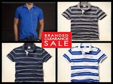 Hollister V Neck Striped T-Shirts for Men