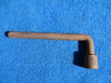 Vintage Original Car Truck Hand Tool 13 Lug Wrench Square Lug 7