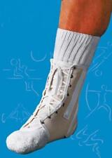 Scott Specialties Ankle Splint Lace-Up Canvas Natural Sportaid #1424