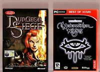 DUNGEON SIEGE & NEVERWINTER NIGHTS. 2 GREAT ROLE PLAYING GAMES FOR THE PC!!