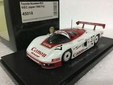 1/43 EBBRO 45018 TOYOTA IKUZAWA 85C WEC JAPAN 1985 FUJI model car Spark