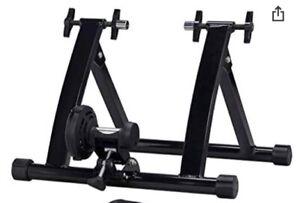 Topeakmart Indoor Bicycle Bike Trainer Exercise Stand - Black