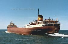 Poster Print: 24 x 36: Hi Res: SS Edmund Fitzgerald Full Speed On The Lakes 1967