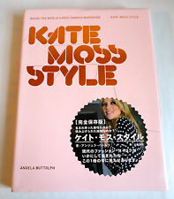 KATE MOSS STYLE JAPAN PHOTO BOOK 2009 Super Model