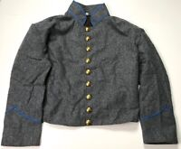 CIVIL WAR CS CSA CONFEDERATE WOOL INFANTRY SHELL JACKET- SIZE 2 (41-44R)