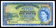 BERMUDA. una sterlina, G / 2 033352. 1-5-1957, molto belle.