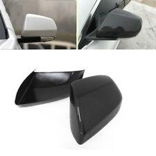 Carbon Fiber Mirror Cover Caps for Cadillac ATS 4 Doors Sedan 2013 - 2017