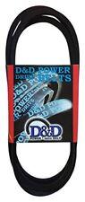 D&D PowerDrive A101 or 4L1030 V Belt  1/2 x 103in  Vbelt