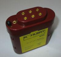 Kahlert 60897 Batterie Avec Capuchon Pour 3x1, 5 Volt Neuf / Emballage D'Origine