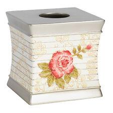 Bathroom Tissue Box Holder Popular Bath Madeline Beige Collection