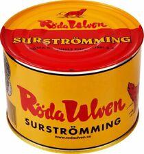 Röda Ulven Surströmming Fillets / Fermented Herring 1.1kg 2.4lb / Surstromming