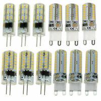 5x 10x 20x G4 / G9 LED Maisbirne 12V / 220V Silikon Kristall LED Licht Lampe Lot