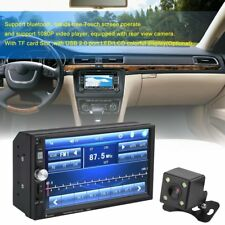 7 Inch Bluetooth Touch Screen LCD Car Stereo Radio MP5 Player Rear View Camera U
