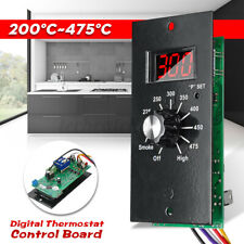 US Digital Thermostat Control Board For Pit Wood Pellet Grills Item #70120