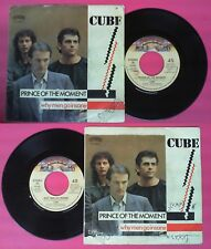 LP 45 7'' CUBE Prince of the moment Why men go insane 1983 italy no cd mc dvd