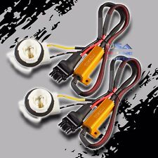 2pc Canbus Error-Free Load Resistor LED HYPER FLASH Delete Harness 3156 3157 USA