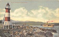 Jamaica Port Antonio Lighthouse Ship Postcard